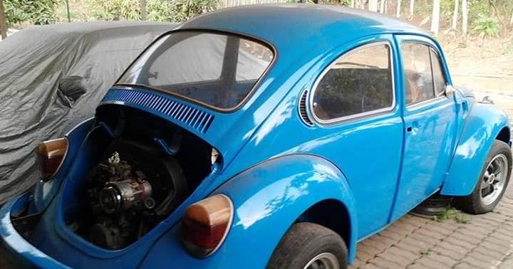 Jual VW Kodok Bahan ..Tinggal Terusin Restorasi VW Ini ...