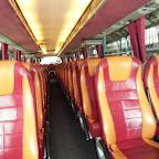 Het interieur van de Bova magiq van Fassbender touringcars bus 82