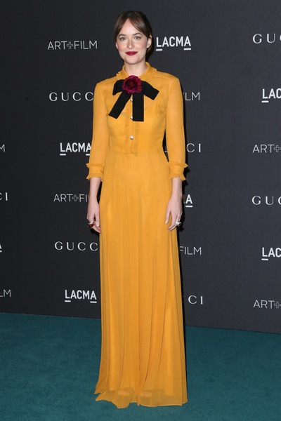 Dakota Johnson attends LACMA 2015 Art Film Gala