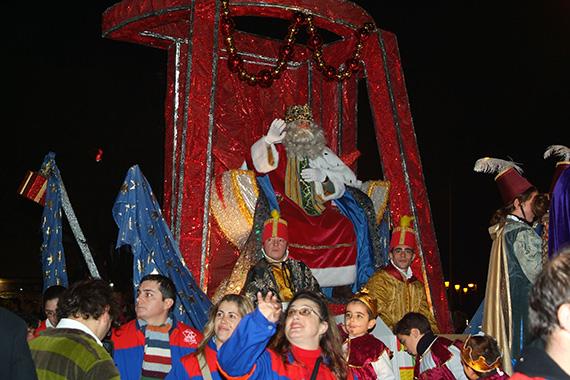 Cabalgata de Reyes 2016 en Móstoles