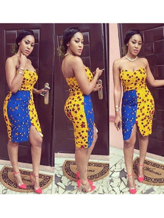 mini ankara short skirts styles (8)