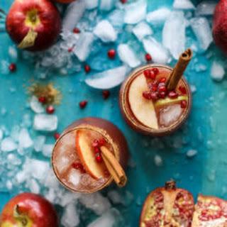 Pomegranate Cider Punch.