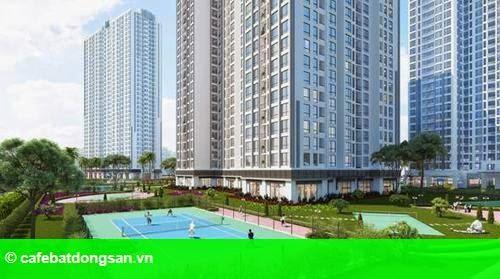 Hình 2: Tòa căn hộ Park 5 – Vinhomes Times City chính thức mở bán