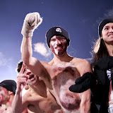 Who needs a shirt...when you've got the Griz! Photo by Patrick Record.