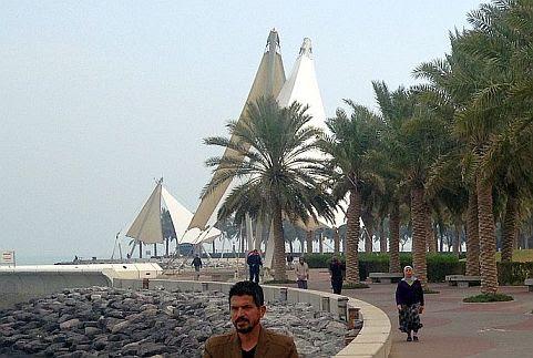 Kuwait City: Ras al Ard am Samstag Morgen