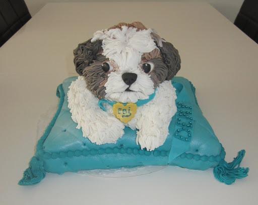 825- Taart verjaardagstaart hondje.JPG