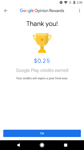 Screenshot for Google Opinion Rewards in United States Play Store