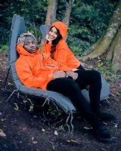 Rayvanny and his ex-wife Fayhma photo
