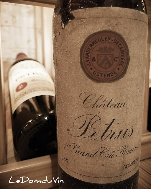 Petrus 1947  (J. Vandermeulen-Decannière label) by ©LeDomduVin 2021