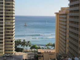 Summer south swell on Oahu.
