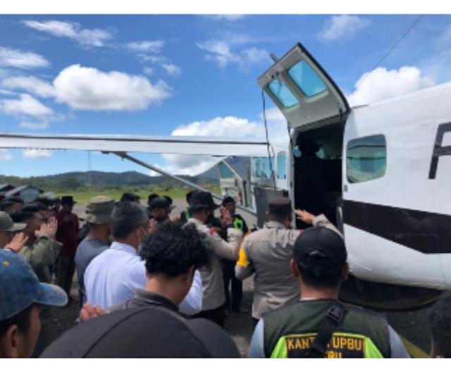 Satu Personel Brimob GuGur Di Papua,Setelah Sebelumnya Personil TNI Ditempat Yang Sama