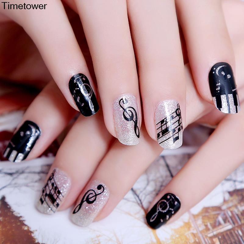 Best Music Nail Art Design Ideas | Fashion Qe