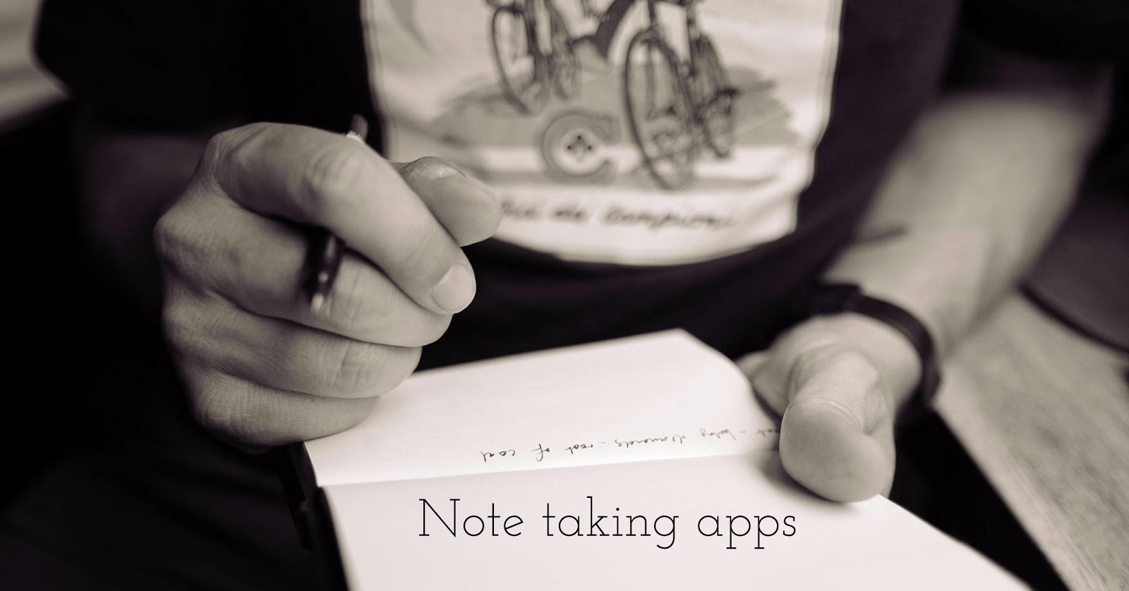 7 Best note-taking app for iPad with Apple Pencil