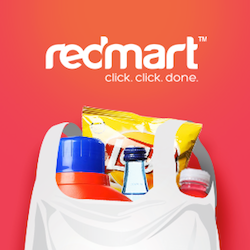 Redmart S$10 Credit