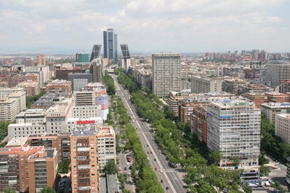 Renovación de aceras en los paseos de Recoletos y del Prado, entre otros proyectosS
