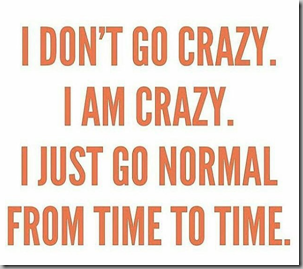 dont go crazy-am