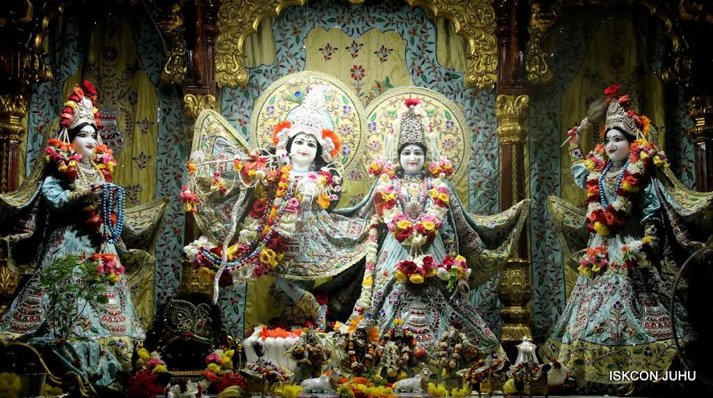 ISKCON Juhu Sringar Deity Darshan on 3rd Aug 2016 (2)