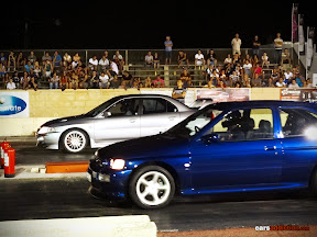 Evo vs Escort Cosworth
