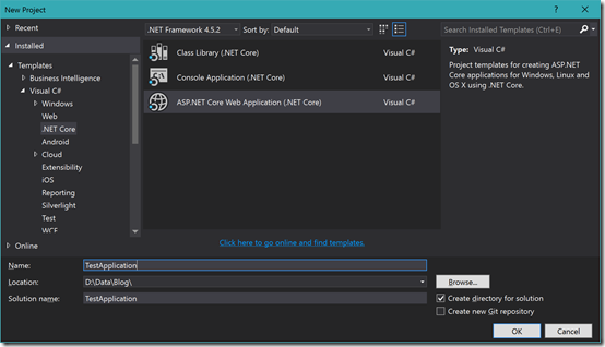 ASPNETCoreApplication