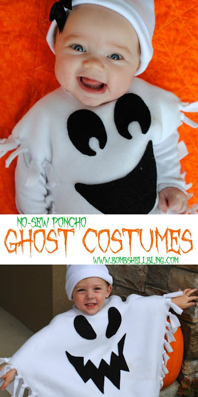 No-Sew-Poncho-Ghost-Costumes