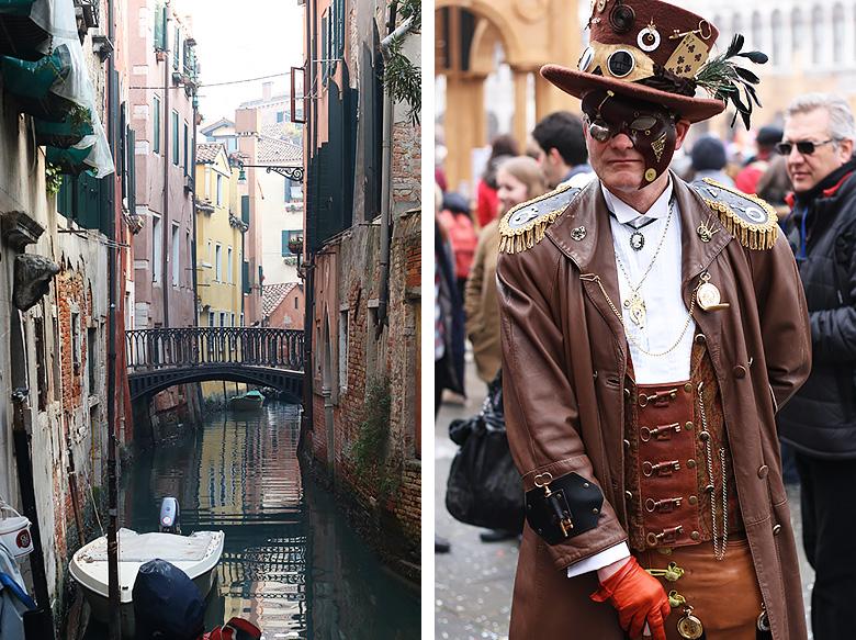 Photos du Carnaval de Venise 2016.