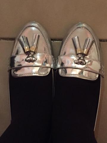 eef8073653 17 Gennaio 2016 - Ho comprato delle scarpe argentate.