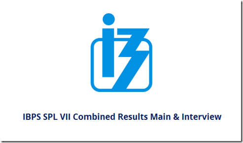 IBPS SO VII  Provisional Allotment 2018