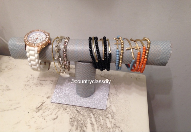 Country Class 30 Days Of Diy Watch And Bracelet Holder