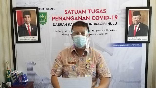 """Kecamatan Rengat Barat """"Tertinggi"""" Kasus Covid-19 di Indragiri Hulu"""