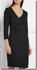 Diane von Furstenberg ruched stretch jersey dress