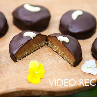 Vegan Peanut Butter Cookie Covered Dark Chocolate