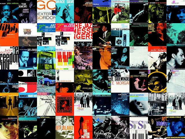 Les pochettes Blue Note Records Montages