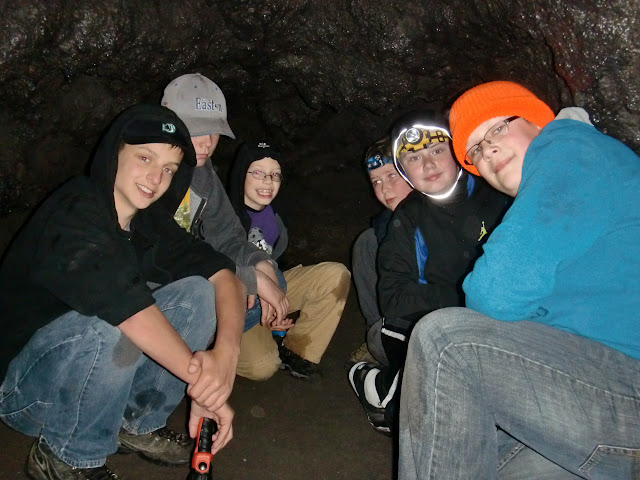 The end of the Lower Cave