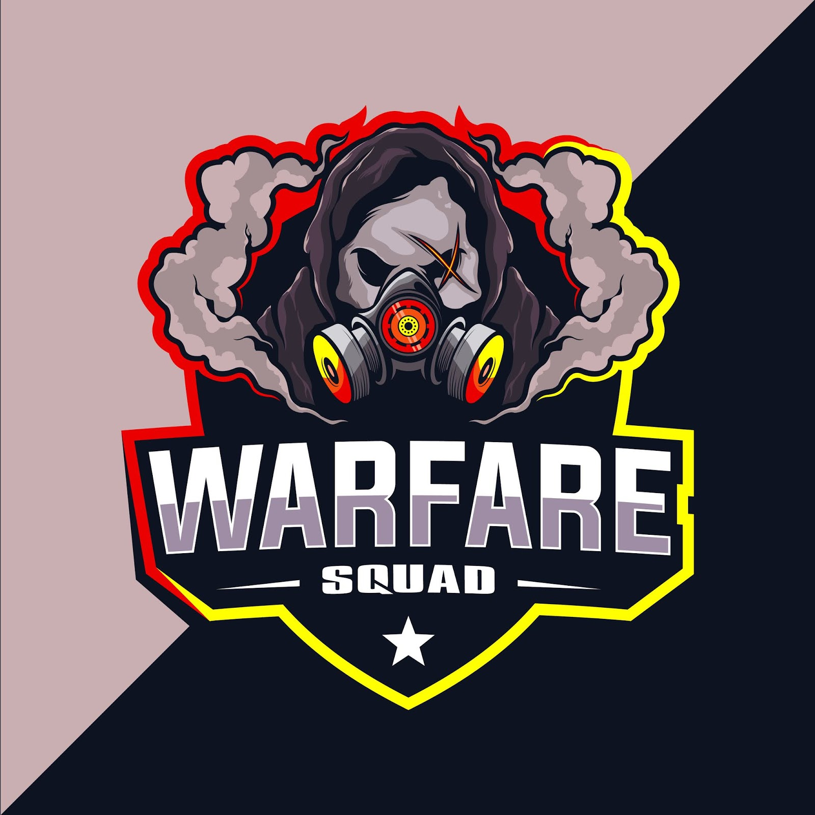 Warfare Squad Esport Logo Free Download Vector CDR, AI, EPS and PNG Formats