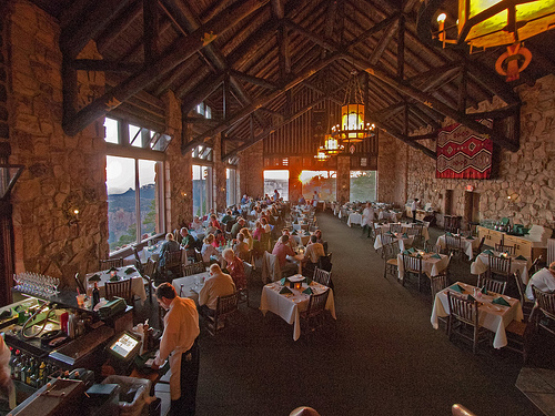 Canyon Lodge Dining Room Menu
