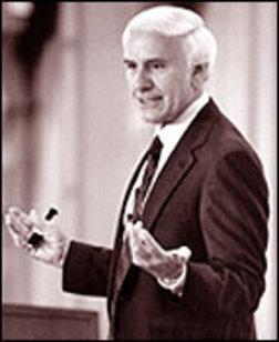Jim Rohn Portrait, Jim Rohn