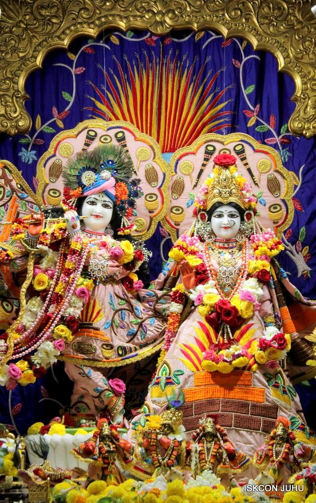 ISKCON Juhu Sringar Deity Darshan 10 Jan 2017 (37)