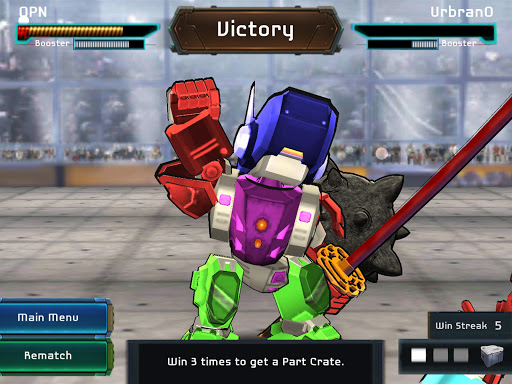 MegaBots Battle Arena: Build Fighter Robot filehippodl screenshot 9