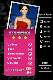 Style Me Girl Level 56 - Yacht Party - Victoria - Stunning! Three Stars