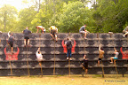 More Warriors on the wall. This was the obstacle we could see the best, so we took a lot of pictures of it.