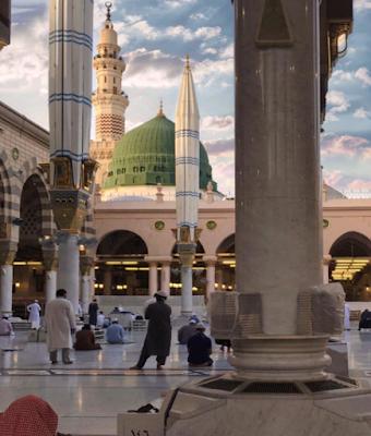 Foto di Dalam Masjid Nabawi Terbaru 2021