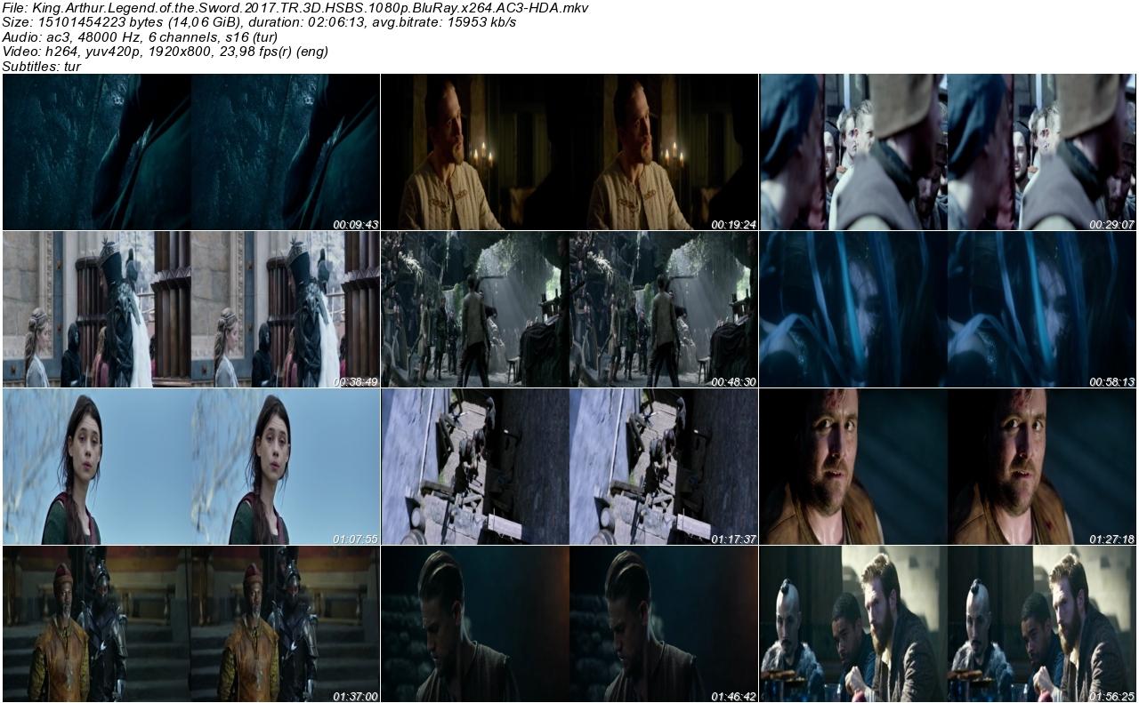 Kral Arthur Kılıç Efsanesi 2017 - 1080p 720p 480p - Türkçe Dublaj Tek Link indir