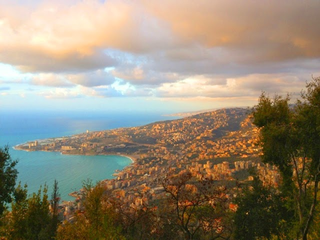 Picture of Jounieh, Lebanon.
