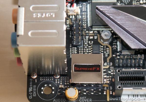 Audio Asus STRIX Z270i GAMING