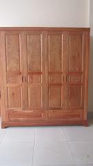 Tủ quần áo gỗ MS-177 (Còn hàng)