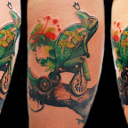 lizard bike - Lizard Tattoos Pictures