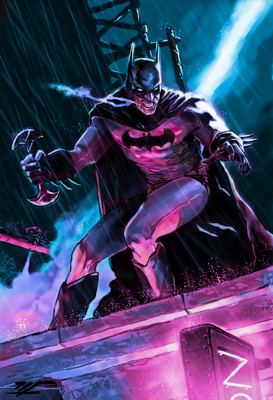 Batman de Marco Ferraccione