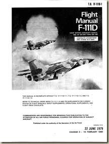 General Dynamics F-111D Flight Manual_01