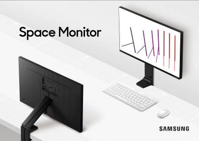 Samsung ปฏิวัติวงการจอมอนิเตอร์ เปิดตัว 'สเปซ มอนิเตอร์ (Space Monitor)' ตอบโจทย์สายเกม-ไลฟ์สไตล์ เพิ่มพื้นที่ทำงานให้กว้างกว่าที่เคย