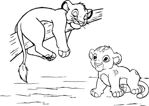 Impressive Coloring Page Lion